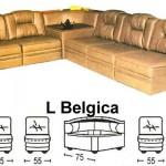 Sofa L Sentra Type L Belgica