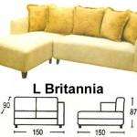 Sofa L Sentra Type L Britannia