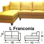 Sofa L Sentra Type L Franconia