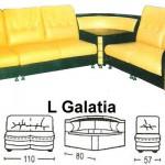 Sofa L Sentra Type L Galatia