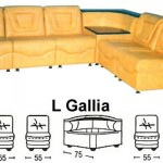 Sofa L Sentra Type L Gallia