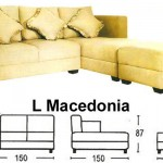 Sofa L Sentra Type L Macedonia