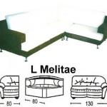 Sofa L Sentra Type L Melitae