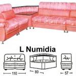 Sofa L Sentra Type L Numidia