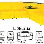 Sofa L Sentra Type L Scotia