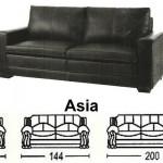 Sofa Minimalis Sentra Type Asia