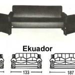 Sofa Minimalis Sentra Type Ekuador