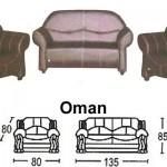 Sofa Minimalis Sentra Type Oman
