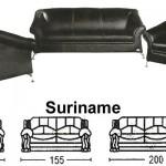 Sofa Minimalis Sentra Type Suriname