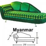 Sofa Santai Sentra Type Myanmar