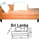 Sofa Santai Sentra Type Sri Langka
