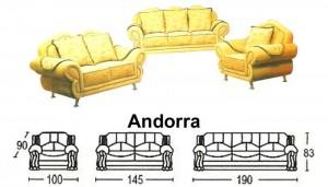 Sofa Tamu Sentra Type Andorra