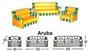 Sofa Tamu Sentra Type Aruba