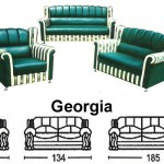 Sofa Tamu Sentra Type Georgia