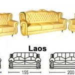 Sofa Tamu Sentra Type Laos