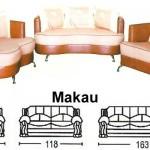 Sofa Tamu Sentra Type Makau