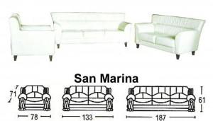 Sofa Tamu Sentra Type San Marina
