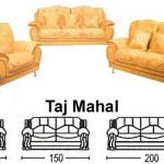 Sofa Tamu Sentra Type Taj Mahal