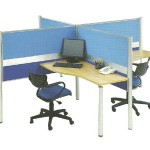 Partisi Kantor Modera Workstation 1-Series 1