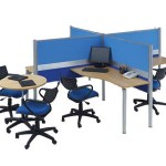 Partisi Kantor Modera Workstation 1-Series 4