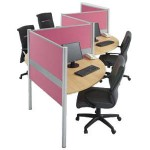 Partisi Kantor Modera Workstation 1-Series 5