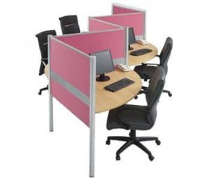 Partisi Kantor Modera Workstation 1-Series 5