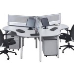 Partisi Kantor Modera Workstation 1-Series 6